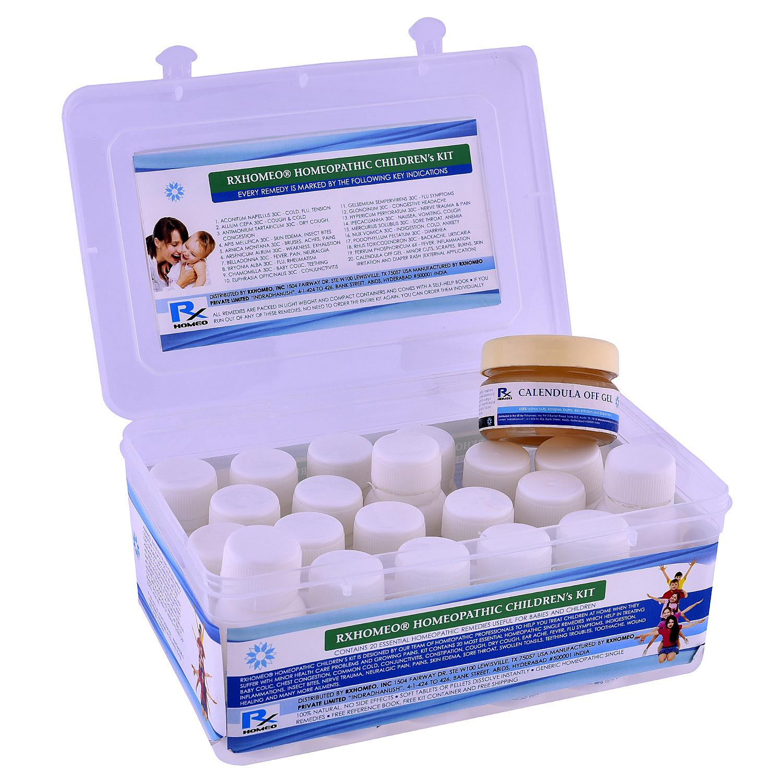 Rxhomeo® Homeopathic Childrens Kit