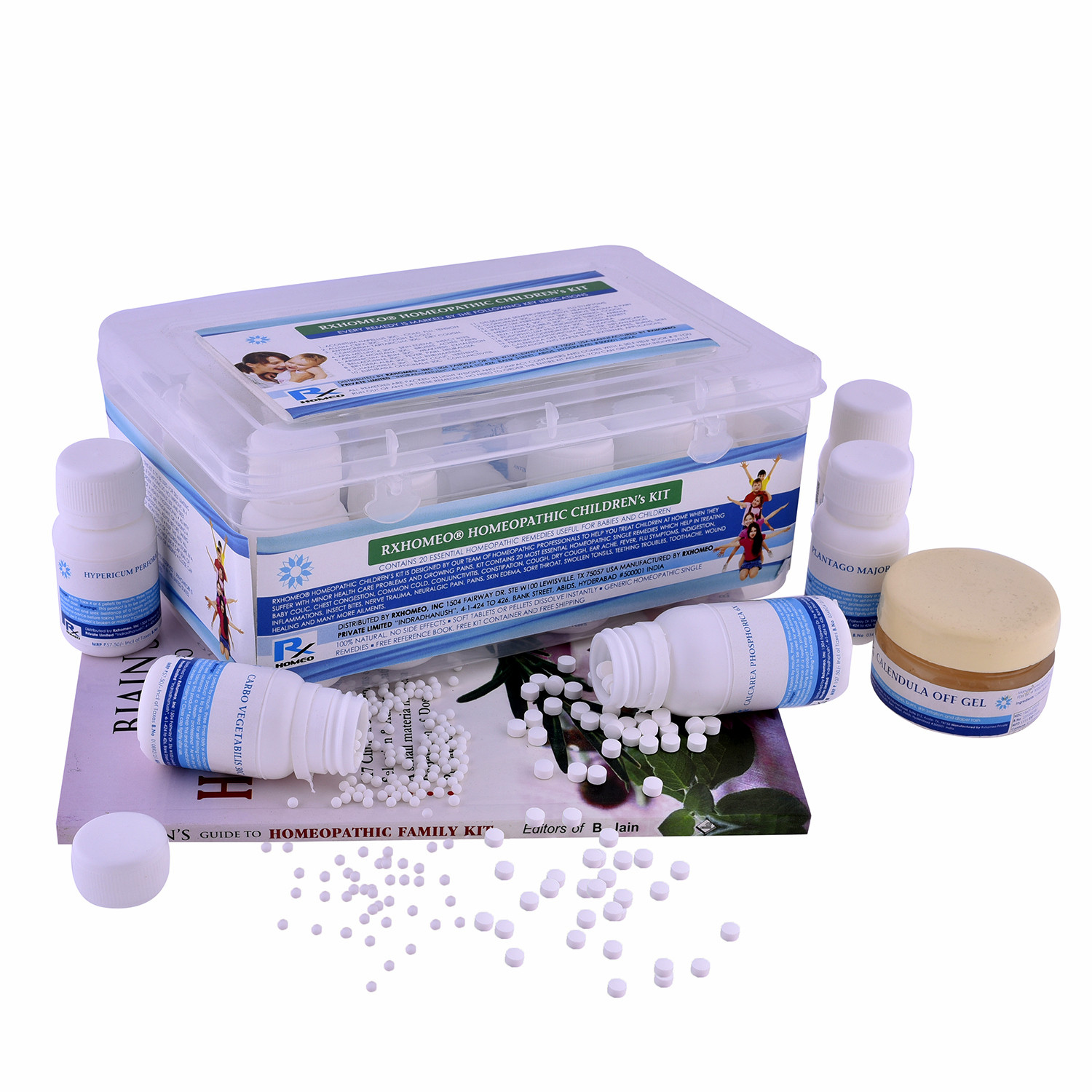 Rxhomeo® Homeopathic Childrens Kit