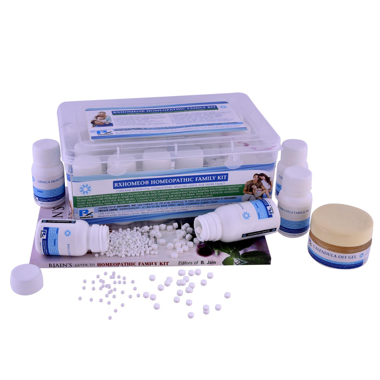 Rxhomeo® Homeopathic Family Kit