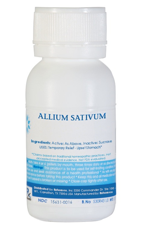 Allium Sativum Homeopathic Remedy