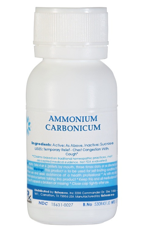 Ammonium Carbonicum Homeopathic Remedy