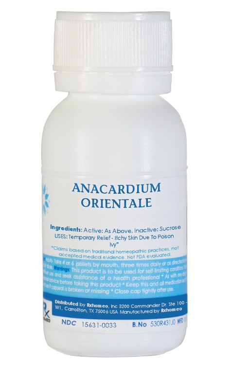 Anacardium Orientale Homeopathic Remedy