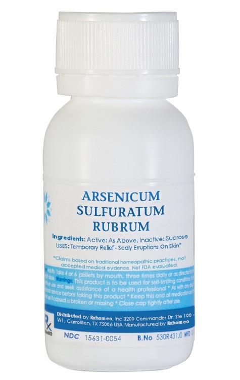 Arsenicum Sulphuratum Flavum Homeopathic Remedy