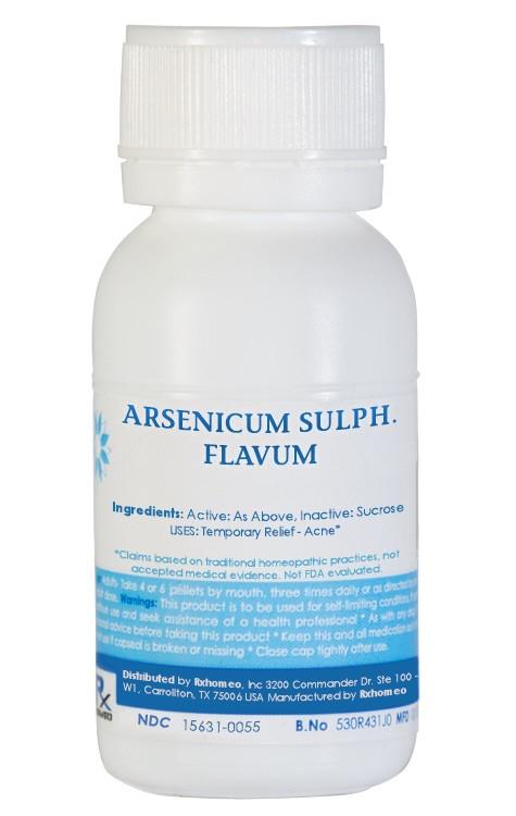 Arsenicum Sulphuratum Rubrum Homeopathic Remedy