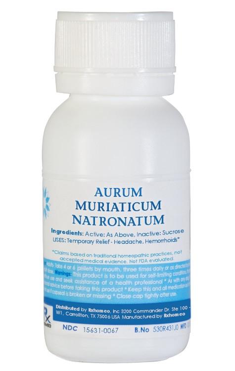 Aurum Muriaticum Natronatum Homeopathic Remedy
