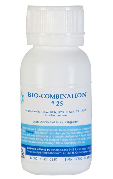 Bio-Combination # 25 - Acidity, Flatulence, Indigestion