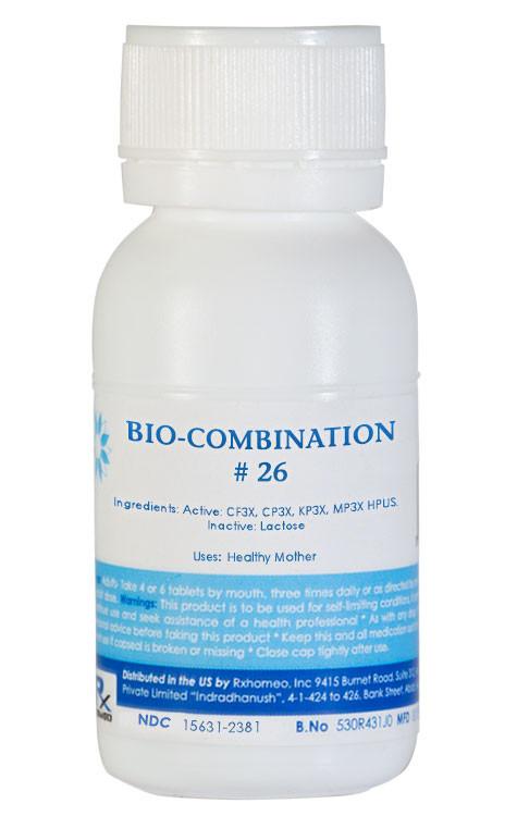 Bio-Combination # 26 - Healthy Mother