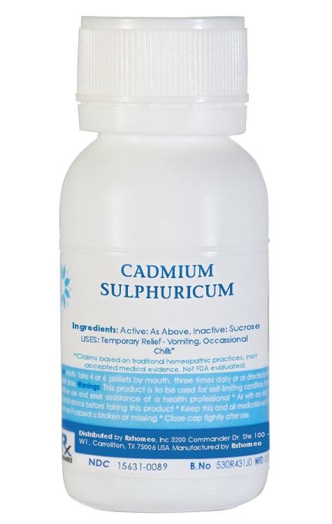 Cadmium Sulphuricum Homeopathic Remedy