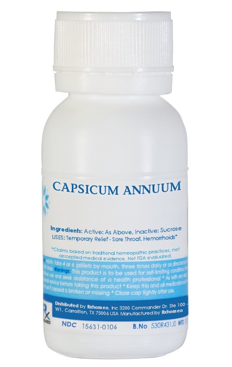 Capsicum Annuum Homeopathic Remedy