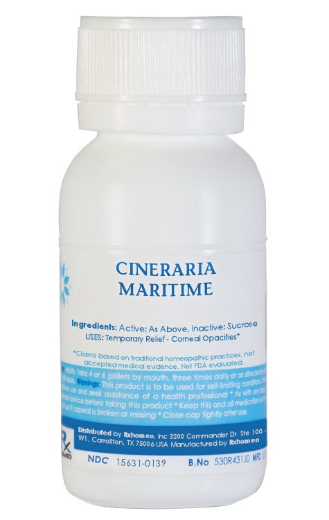 Cineraria Maritima Homeopathic Remedy