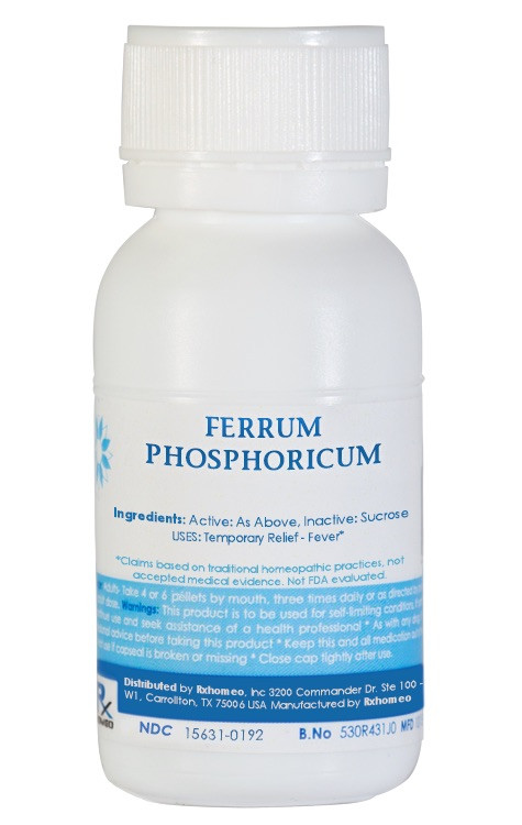 Ferrum Phosphoricum Homeopathic Remedy