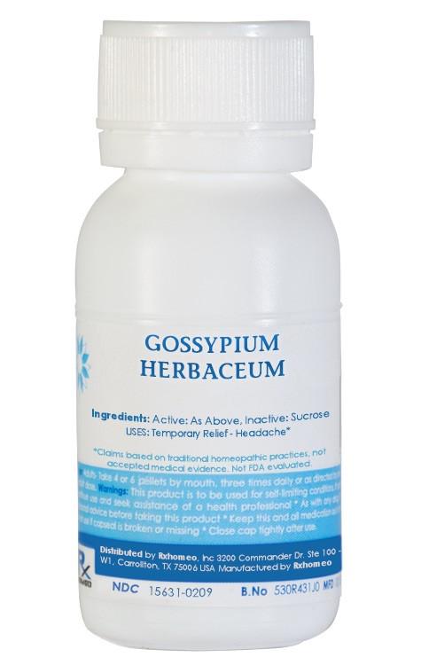 gossypium herbaceum Homeopathic Remedy