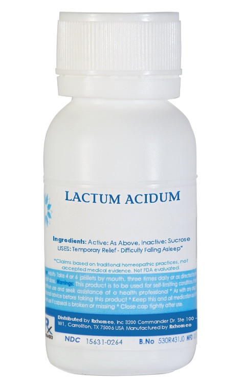 Lacticum Acidum Homeopathic Remedy