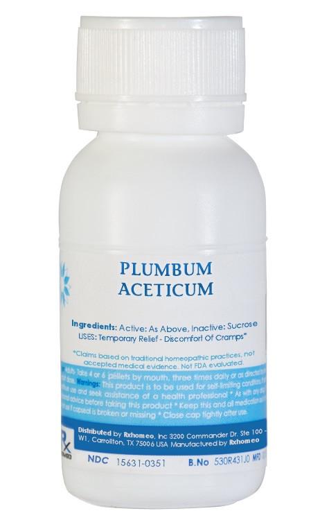 Plumbum Aceticum Homeopathic Remedy