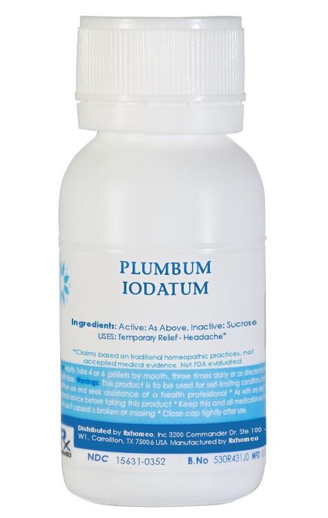 Plumbum Iodatum Homeopathic Remedy