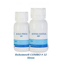 Rxhomeo COMBO # 12 - Stress